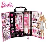 Originale Barbie Doll Fantasia Finale Nell'armadio Bambino Giocattoli Della Signora Modello di Abbigliamento Costume Vestito Barbie Principessa Giocattoli Regalo Per La Ragazza X4833