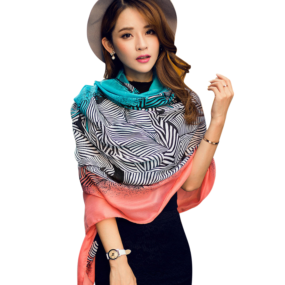 2016 New Fashion Scarf Women Oversize Print Bandana Women