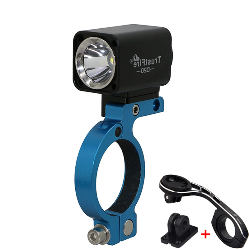 USB Bicycle Light Trustfire D20 L2 Led Cycling Mtb Bike Lights With Extend Bracket Holder For GARMIN Speedometer GoPro|Bicycle Light| |  - title=
