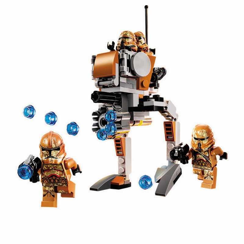 10368 бале Звездные войны геоноз тропперы модель строительные блоки просветить Фигурки игрушки для детей Рождественский подарок
