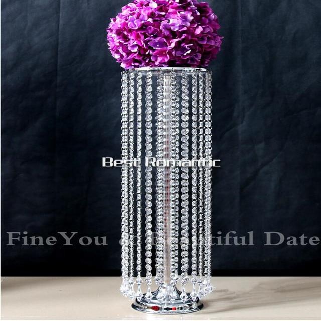 Express Free Shipment 10pcs LotsAcrylic Crystal Wedding Centerpiece 70