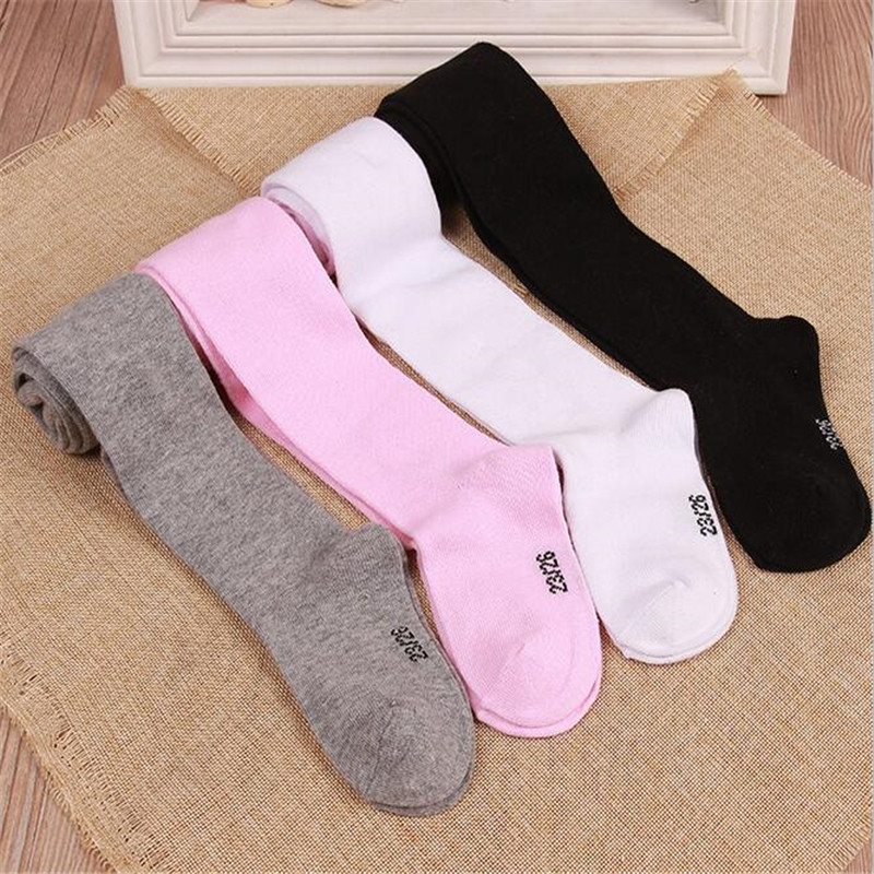 YWHUANSEN 0-6Yrs Children Spring/Autumn Tights Cotton Baby Girl Pantyhose Kid Infant Knitted Collant Tights Soft Infant Clothing 1