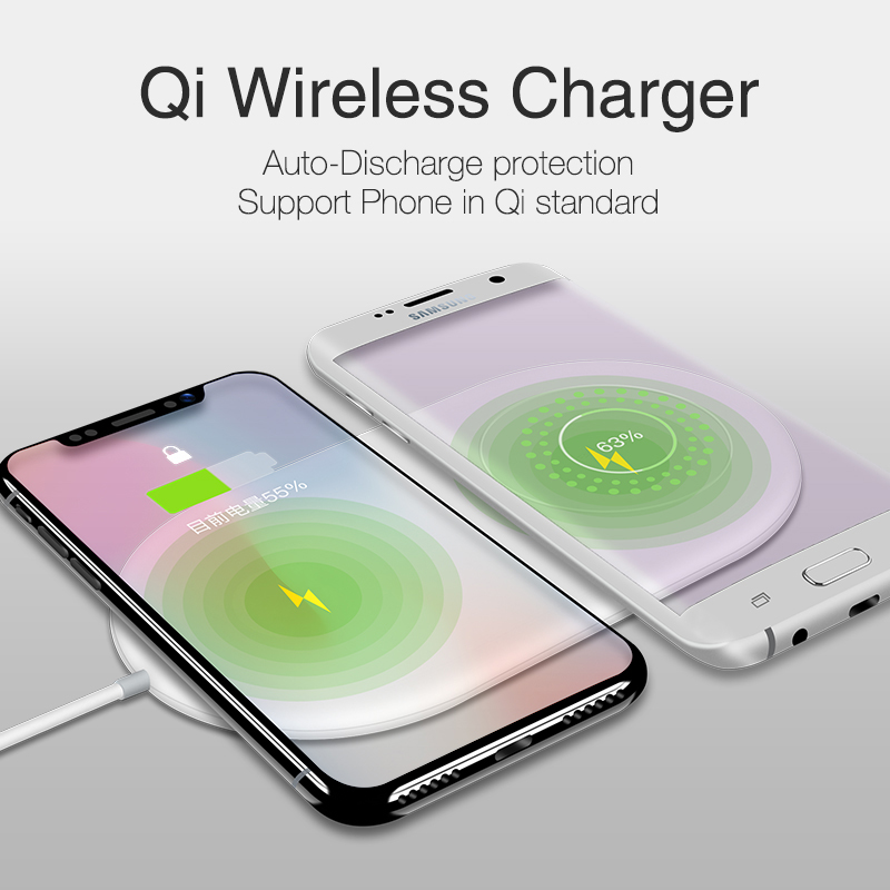 Image 4 - KISSCASE Double 10W Wireless Charger For iPhone 11 Pro Max XR XS X 8 Plus Samsung Note 10 Fast Qi Wireless Charger Charging pad-in Mobile Phone Chargers from Cellphones & Telecommunications