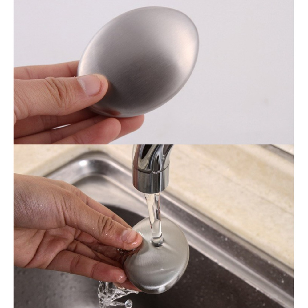 Stainless Steel Deodorant Soap Remove Garlic And Fishy Smell Stainless Steel Hand Odor Eliminator Remover