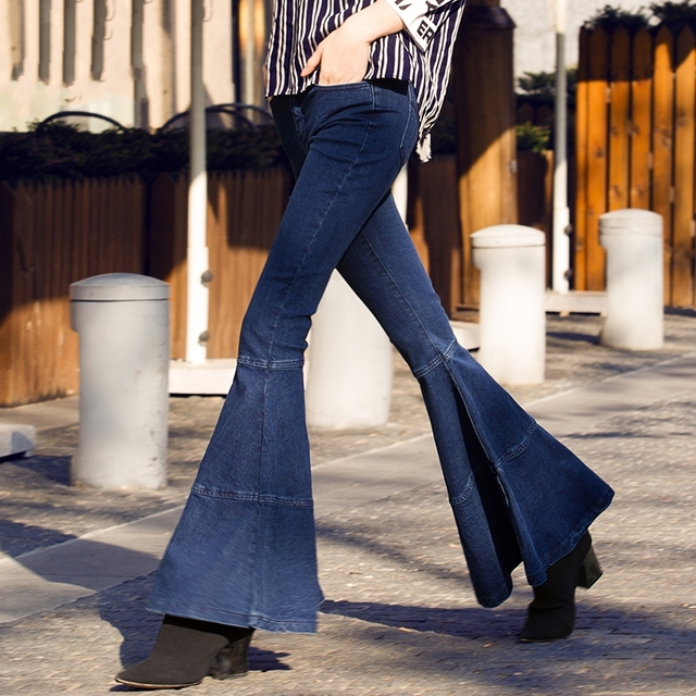 Image result for flared jeans 2018