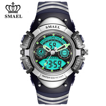 SMAEL Children LED Display Digital Watch Kids Sport Watches 30M Waterproof Electronic Multifunction boy&Girl Student Wrist Watch