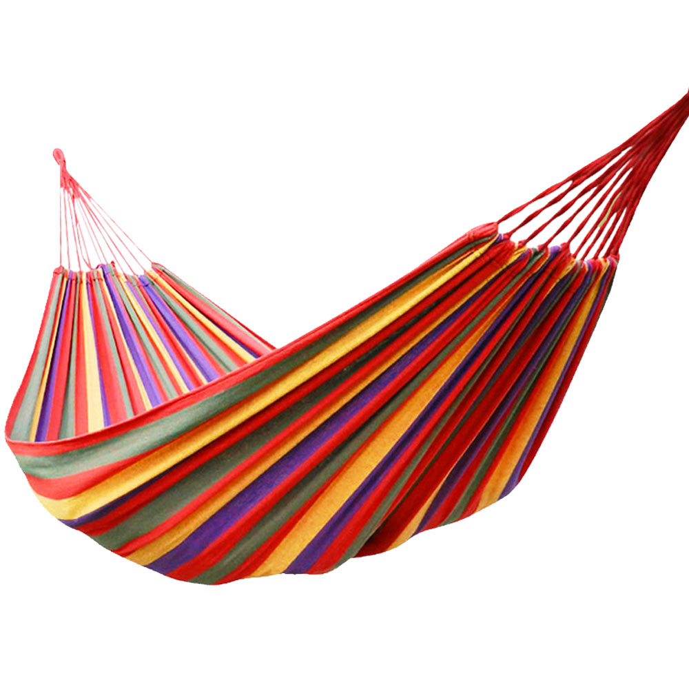 Outdoor Travel Single Widened Hammock To Send Rope 280*80cmOutdoor Travel Single Widened Hammock To Send Rope 280*80cm