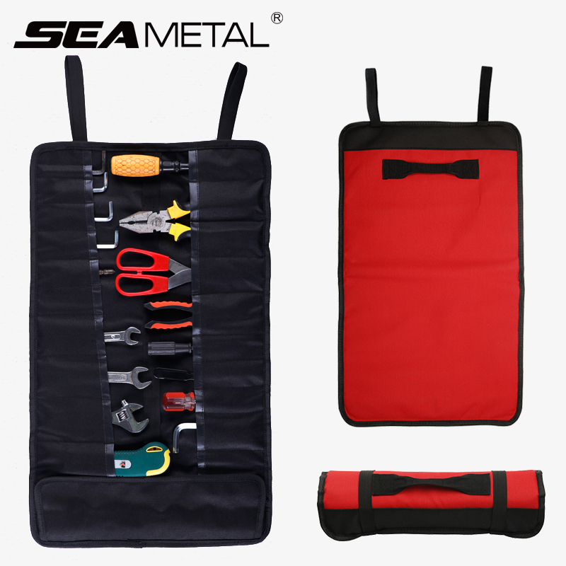 Car Repair Tool Bag Organizer Storage Portable Tool Trunk