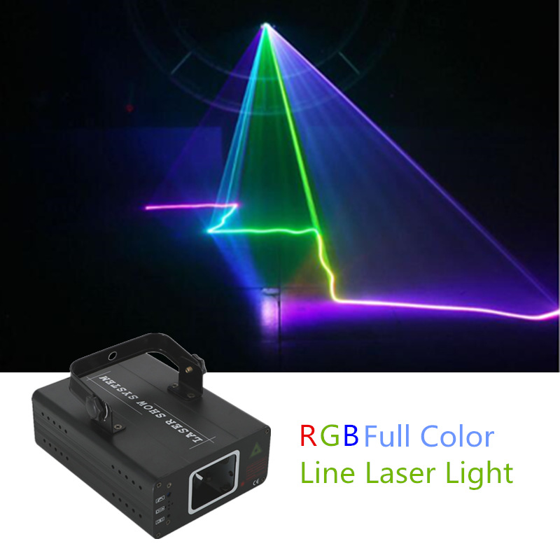 AUCD Mini RGB Full Color Laser Projector Light DMX Master-slave DJ Party Home Show Professional Stage Lighting DJ-507RGB mini uv purple led stage light dmx stage lighting effect laser projector light for dj party show holiday decoration lamp lights