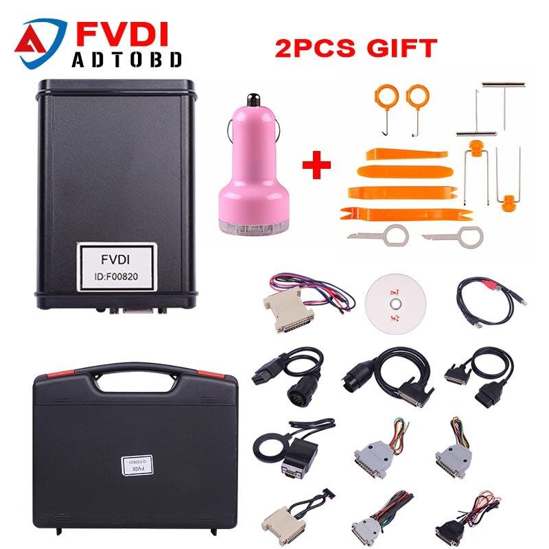 In stock FVDI V2014 or FVDI V2015 Full Version Including 18 Software FVDI ABRITES Commander
