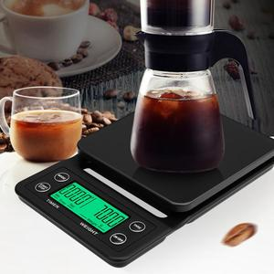 Image 5 - Digital Drip Coffee Scale with Accurate Timing High Precision Electronic Scale Multifunction Kitchen Bakery Food Scale