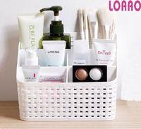 Loaao Plastic Diversen Organizer Box Home Opbergdoos Cosmetische Case Bag Tafel Makeup Box Organizer Badkamer Accessoires