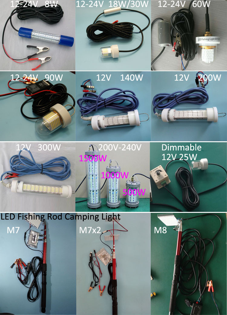 led fishing lights fishing rod lights