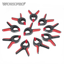 Free Shipping WORKPRO 10 Piece 2(50MM) Heavy Duty Clamps Set