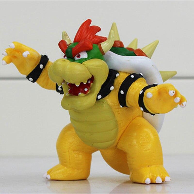 10cm Rare Collection Super Mario Bowser Figure Anime Manga Toys