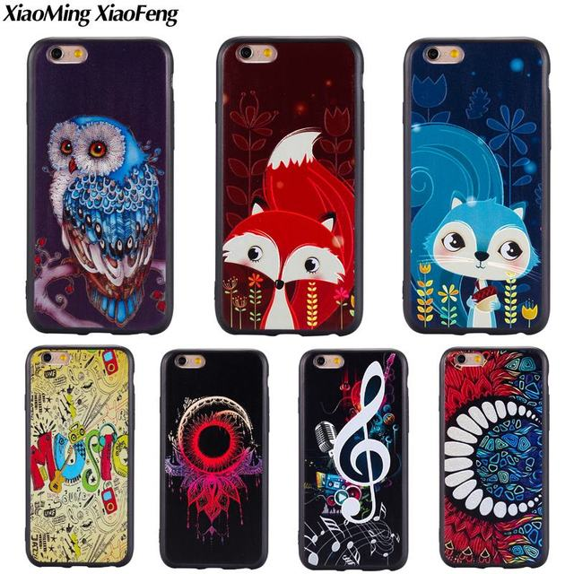 coque iphone 6 hibou