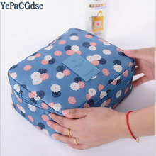 Portable Travel Storage Bag Waterproof Oxford Cloth Underwear  Finishing Organizer Suitcases Cosmetic Makeup Bags