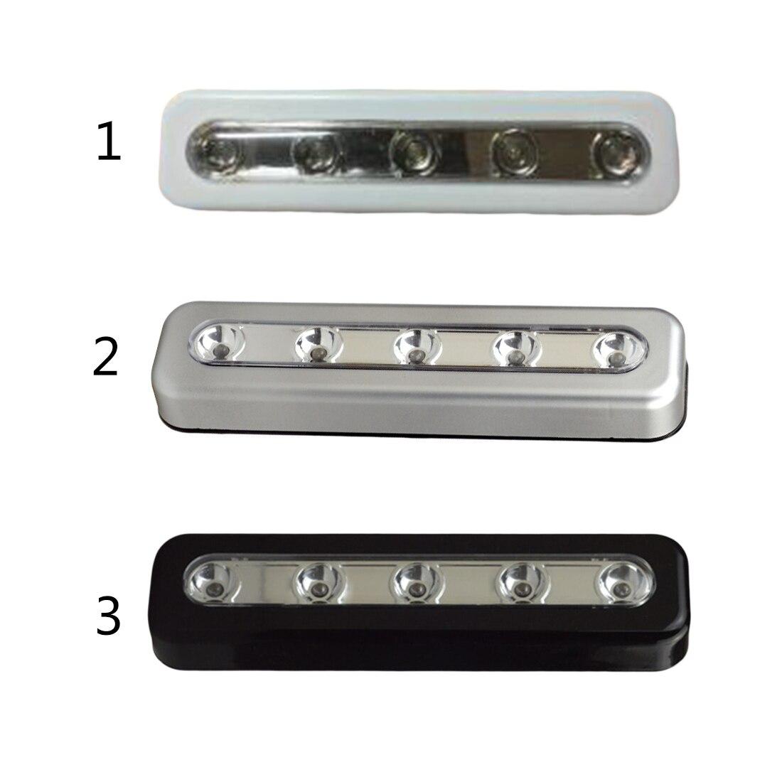 Mini Drahtlose Wandleuchte Schrank Lampe 5 LED Nachtlicht Hause ...