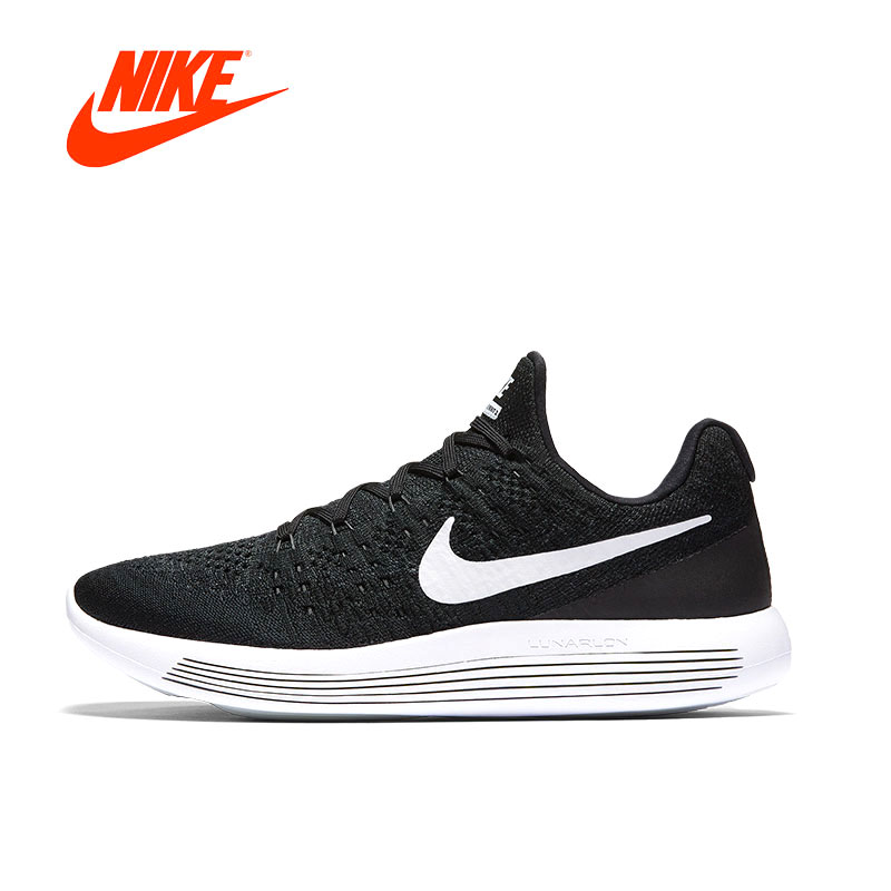 Original New Arrival Authentic NIKE LUNAREPIC LOW FLYKNIT 2 Mens Running Shoes 863779 Walking Jogging Sneakers