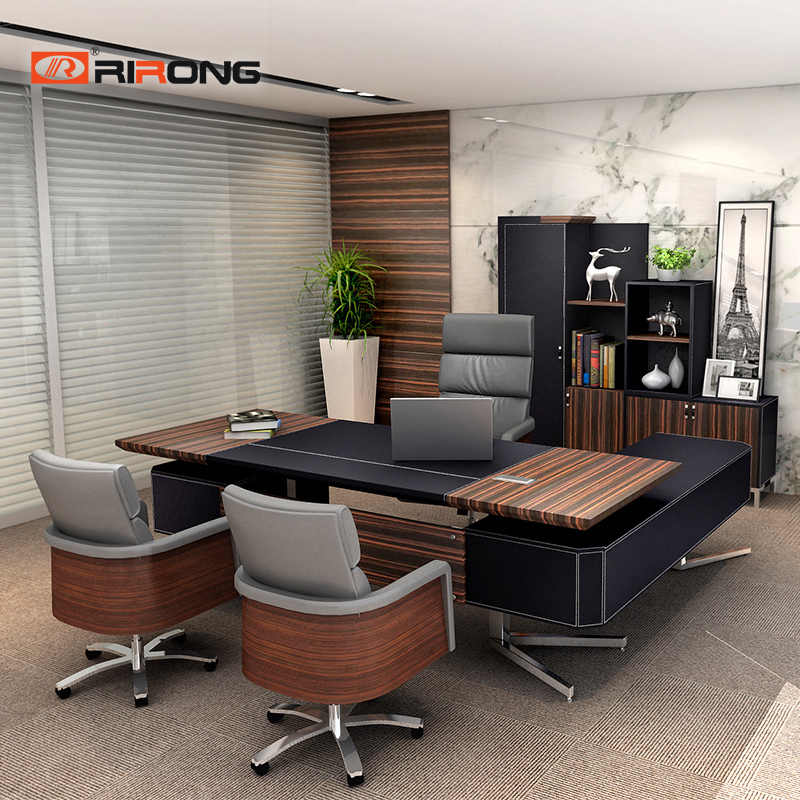 Office Furniture Set Home Study Wood