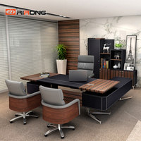 Loft Ins Small personal Office Furniture Set Home Study Wood Office Executive Space Design Manager Custom Office Desk Table Sets
