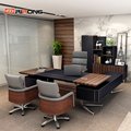 Loft ins pequeno conjunto de móveis de escritório pessoal casa estudo madeira escritório executivo espaço design gerente personalizado mesa escritório conjuntos