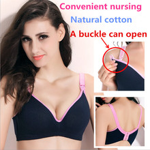 New Breastfeeding cotton Maternity Nursing Bra sleep bras for nursing pregnant women soutien gorge allaitement underwear недорого