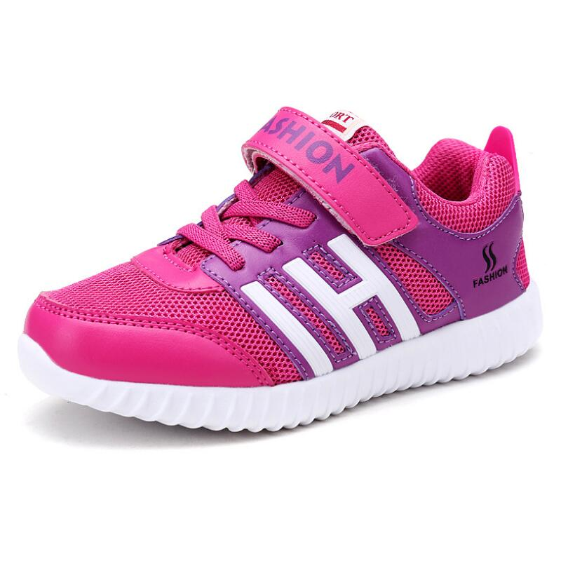 HOBIBEAR Children Mesh Cloth Students Running Shoes Boys Girls Deodorant Breathable Lightweight Sneakers Casual Shoes in Sneakers from Mother Kids