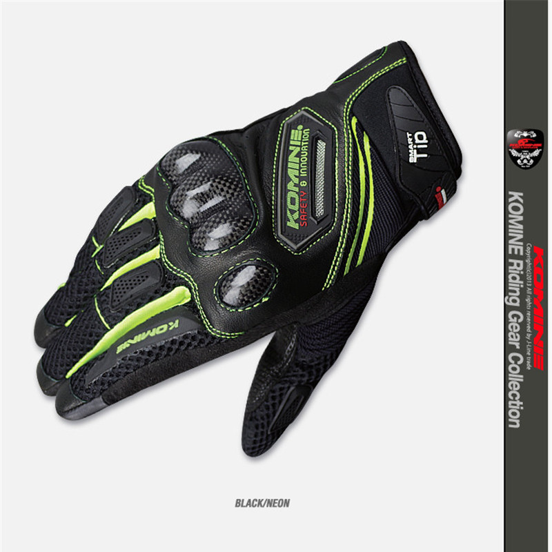 Leather Racing Glove Motorcycle Gloves ride bike driving bicycle cycling Motorbike Sports moto racing gloves for KOMINE GK-167