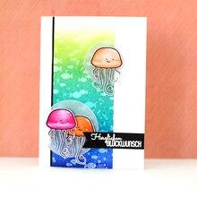 JC Clear Rubber Stamps for Scrapbooking Danke German Phrase Stamp Silicone Seals Craft Stencil Album Card Make Decoration Sheet