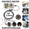 Android Phone OTG Inspection Camera Endoscope Phone 3 5M 5 5mm Lens Inspection Pipe IP67 Waterproof