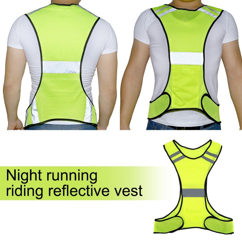 Ad Alta Visibilità Giubbotto Di Sicurezza Riflettente Di Notte Corsa E Jogging Abbigliamento Di Sicurezza Regolabile Vita Indossare Uniformi Di Lavoro Dei Vestiti Di Vendita Calda Negozio Online