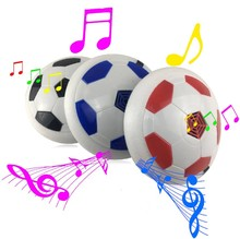 Красочные светодио дный свет электрический приостановлена игры освещения воздушной подушке Футбол ножной мяч Крытый спортивный игрушки подарок Для детей Студент