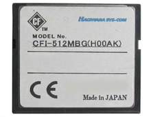 D'origine made in Japan 512 MB Carte CF l'industrie utiliser compact flash carte 512 mb