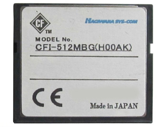Original made in Japan 512MB CF Card industry use compact flash card 512mb