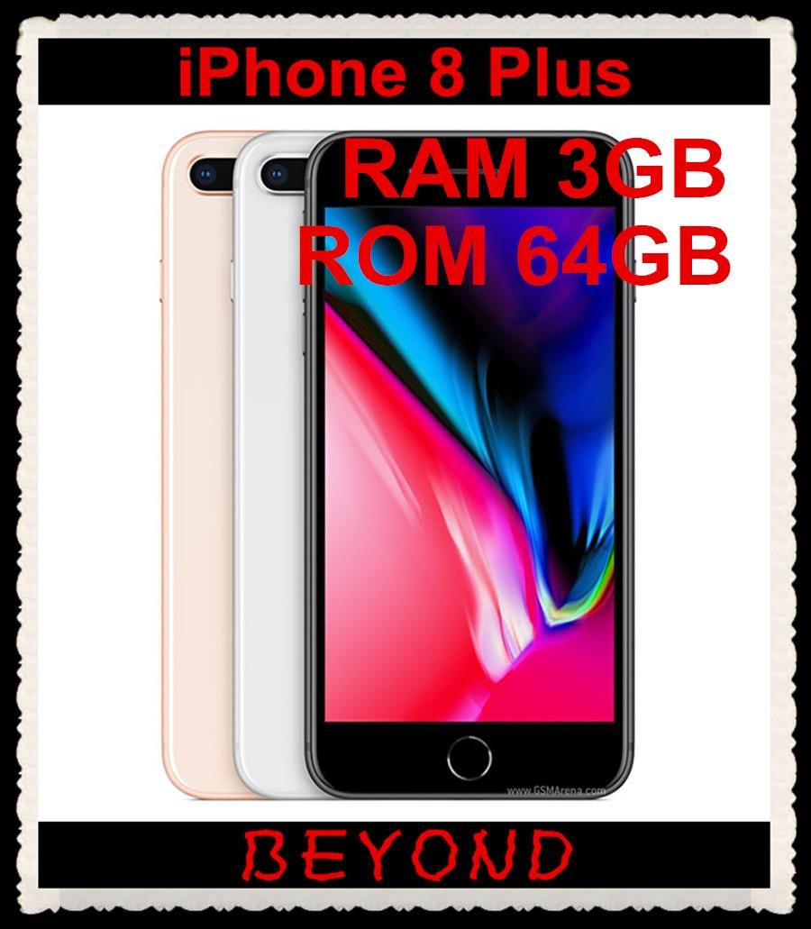 Apple IPhone 8 Plus Original Factory Unlocked Mobile Phone IPhone8 Plus LTE 5.5 Inch Hexa Core A11 Dual 12MP RAM 3GB ROM 64GB