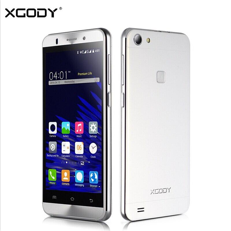 XGODY X15S 5.0 Pollice 3G Smartphone Android 5.1 MTK6580M Quad Core 1 GB RAM 8 GB ROM WiFi GPS Del Telefono Mobile Cellulare 5.0MP Dual Sim