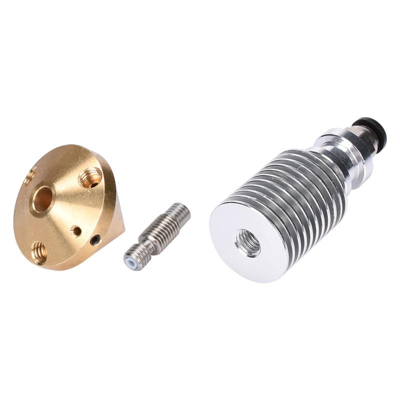V6 Brass Diamond Nozzle Hotend Extruder Multi Nozzle 3 In 1 Out 0.4MM Nozzle 1.75MM Filament 3D Printer Kit  5