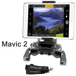 Mavic de DJI 2 Control remoto soporte Tablet soporte de Monitor de teléfono frente soporte para el Mavic de DJI 2 Pro Zoom Drone transmisor soporte