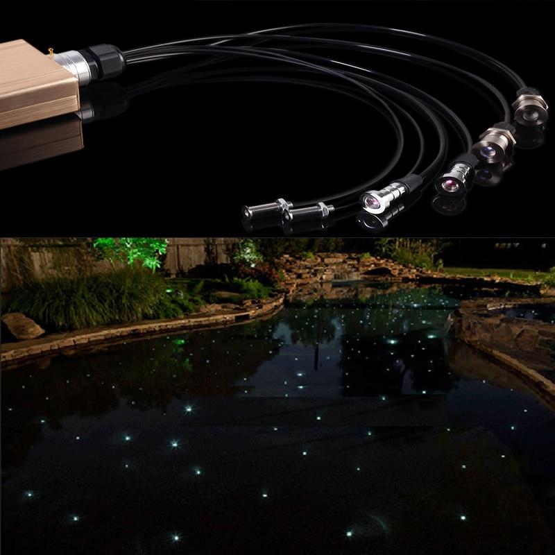 ip68 mała wpuszczana światłowodowa lampa basenowa - Oświetlenie komercyjne - Zdjęcie 6