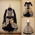 Gótico asimétrico diseño de rayas sin mangas de dress jsk lolita dress por mousita [adaptación personalizada disponible]