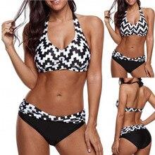 672ae30e1a FASHION summer women oversized printed zip-up split Swimwear Bathing  Beachwear Bathing swimsuit on big