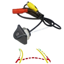 CCD Intelligente Dinamica Traiettoria Tracce Videocamera vista posteriore Universale di Backup Retromarcia Telecamera di Parcheggio Per DVD Monitor
