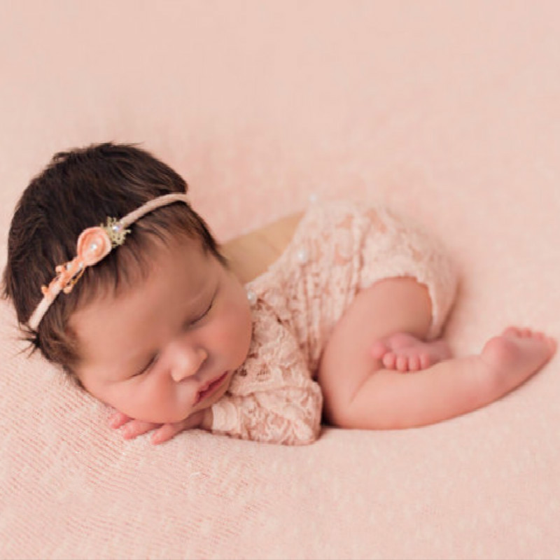 Newborn Romper Photography Props Infant Costume Cute Princess jumpsuit toddler girl clothing Baby Girl lace Romper long sleeves newborn baby photography props infant knit crochet costume peacock photo prop costume headband hat clothes set baby shower gift
