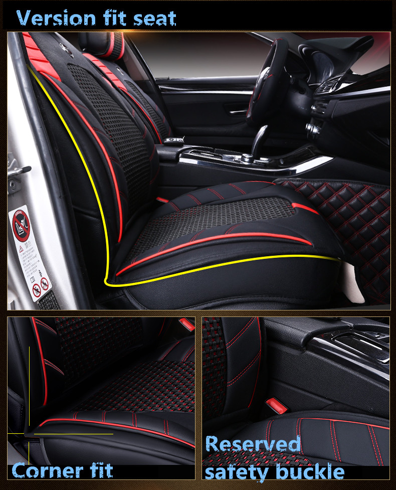 MagiDeal Motorcycle Electric Car Seat Cover Scooter Mesh Cushion Mat Black XL