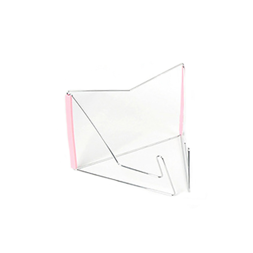 Notebook Reading Holder Foldable Adjustable Angle Stainless Steel Document Base Multifunction Book Stand Portable Storage