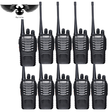 10pz Baofeng bf-888s walkie talkie UHF400-470mhz due vie Ham Radio baofeng 888s Handheld Ham Comunicatore radiofonico