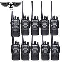 10pz Baofeng bf 888s walkie talkie UHF400 470mhz due vie Ham Radio baofeng 888s Handheld Ham Comunicatore radiofonico