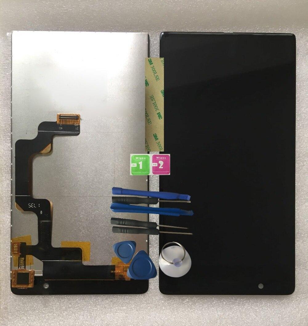 RYKKZ Für 5,5 zoll Umidigi Kristall LCD Display Mit Touch Screen Digitizer Montage Ersatz Für UMI Kristall + Werkzeuge