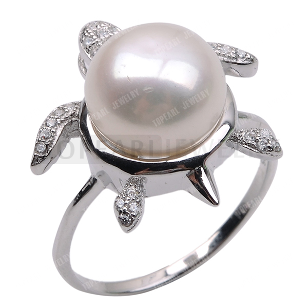 Aliexpress Com Buy Topearl Jewelry Turtle 925 Silver Clear Cubic
